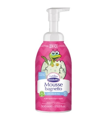 EUPHIDRA AMIDOMIO MOUSSE BAGNETTO 500 ML + LIBRO IN OMAGGIO - Farmafamily.it