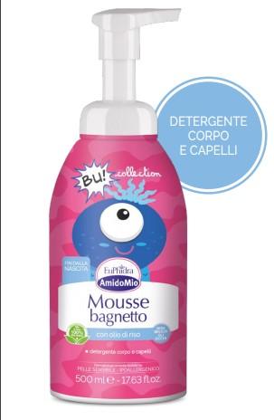 EUPHIDRA AMIDO MOUSSE BAGNETTO 500 ML - Farmacia Castel del Monte