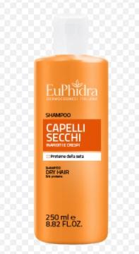 EUPHIDRA SHAMPOO CAPELLI SECCHI 250 ML - Farmacia Massaro