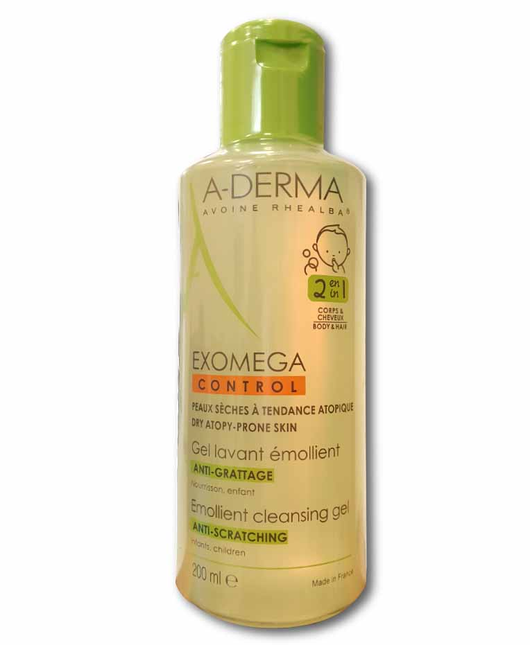 EXOMEGA CONTROL GEL 2 IN 1 200 ML - FARMAEMPORIO