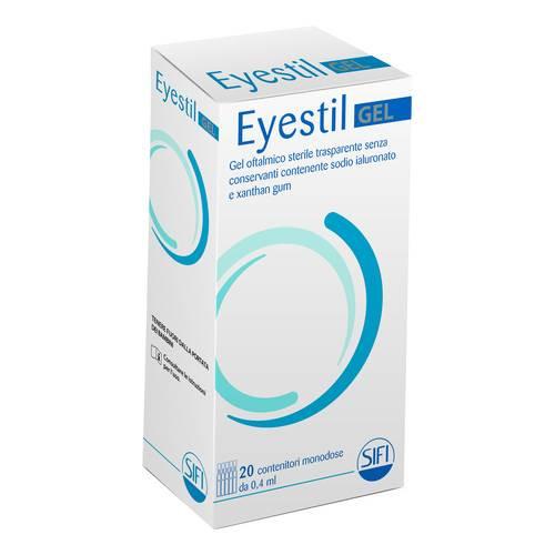 EYESTIL GEL 20 CONTENITORI MONODOSE DA 0,4 ML  - Zfarmacia