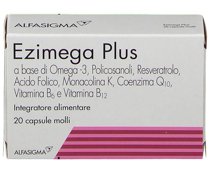 EZIMEGA PLUS 20 CAPSULE MOLLI - Farmacielo