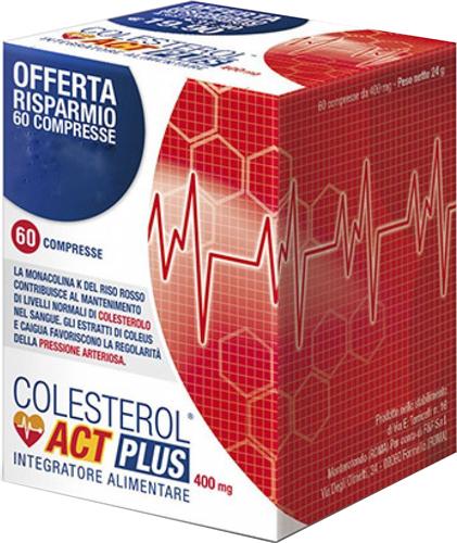 COLESTEROL ACT PLUS 60 COMPRESSE - Farmacia Centrale Dr. Monteleone Adriano