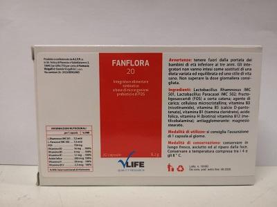 VLIFE FANFLORA 20 CAPSULE - Zfarmacia