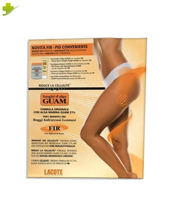 Guam Fanghi D'Alga FIR Anticellulite  Confezione Convenienza 1 KG + Crema Gel 250 ml - Farmastar.it