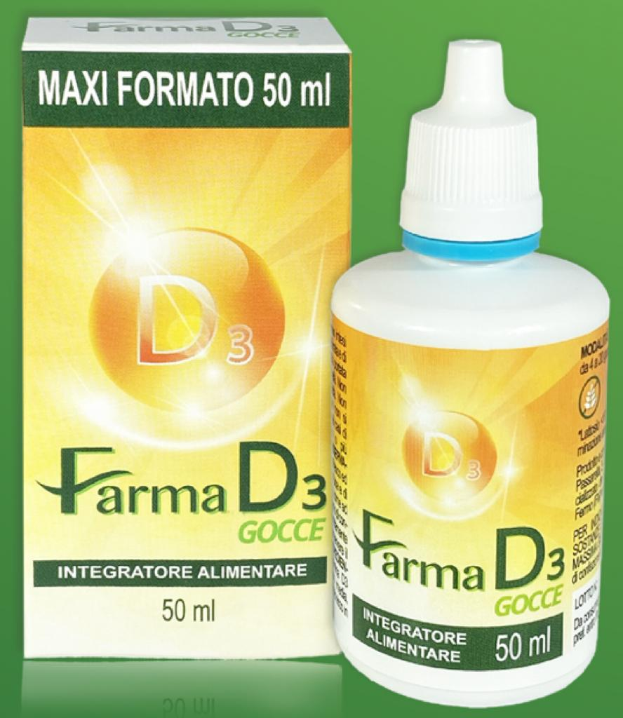 VITAMINA D3 FARMA D3 GOCCE 50 ML - FARMAEMPORIO