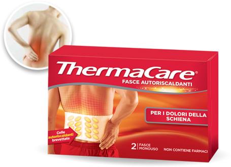 Thermacare Fasce Autoriscaldanti a Calore Terapeutico Schiena 2 Pezzi Monouso - La tua farmacia online