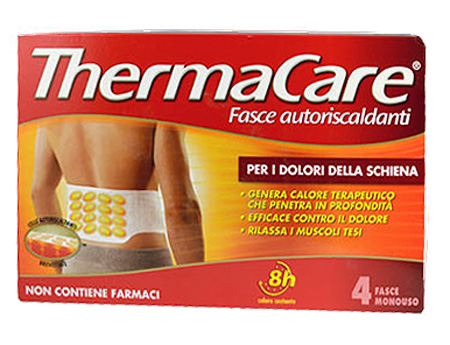 Thermacare Fasce Autoriscaldanti a Calore Terapeutico Schiena 4 Pezzi Monouso - La tua farmacia online