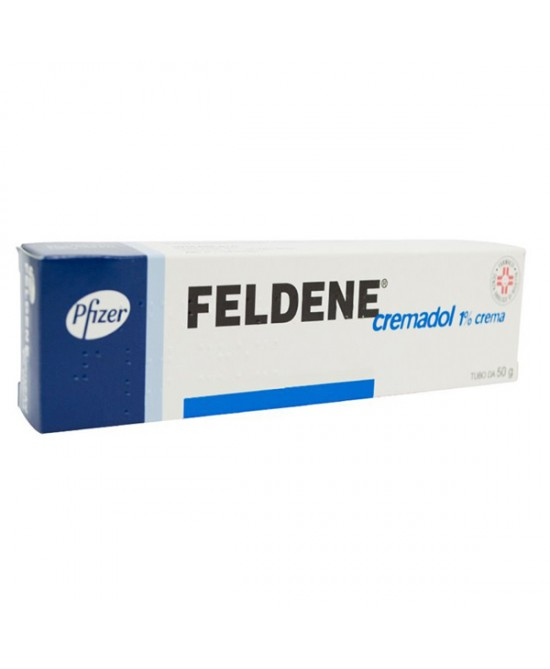 DONAZIONE Pfizer Feldene Cremadol 1% Crema Stati Dolorosi Di Natura Reumatica E Traumatica Tubo 50g - Farmaci.me