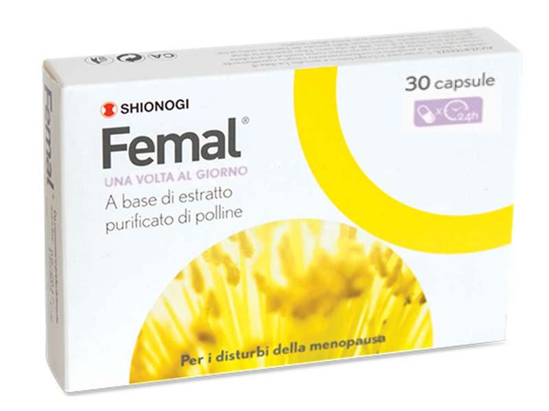 FEMAL 30 CAPSULE - Parafarmacia la Fattoria della Salute S.n.c. di Delfini Dott.ssa Giulia e Marra Dott.ssa Michela