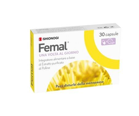 FEMAL INTEGRATORE POLLINE MENOPAUSA 30 CAPSULE - Farmastar.it