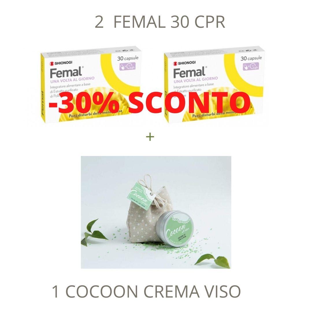 Femal + Cocon Crema viso - Parafarmacia la Fattoria della Salute S.n.c. di Delfini Dott.ssa Giulia e Marra Dott.ssa Michela