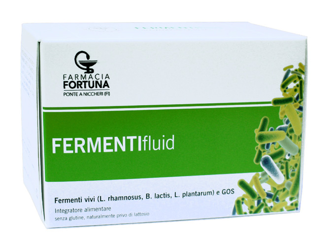 TuaFarmaonLine Fermentifluid Fermenti Lattici Vivi Equilibrio 10 Flaconcini - La tua farmacia online