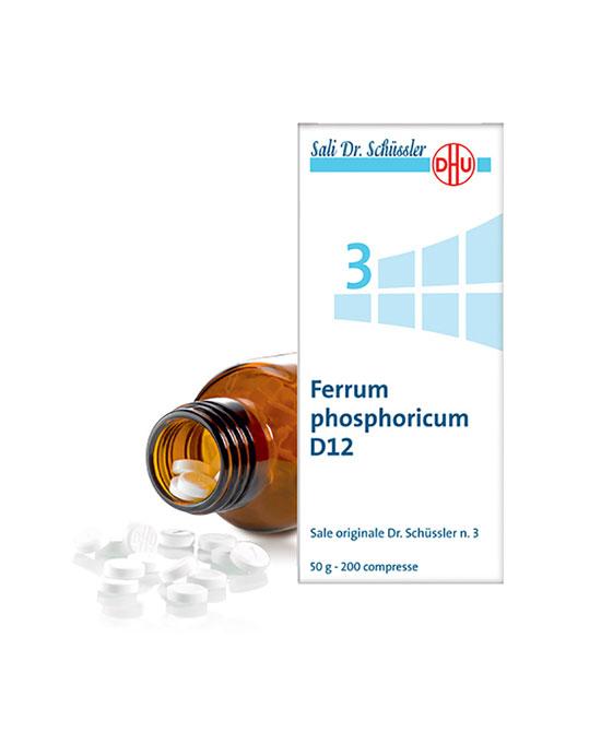 DR. SCHUSS FERRUM PHOSPHORICUM 3 12 DH 50 G - Farmapage.it