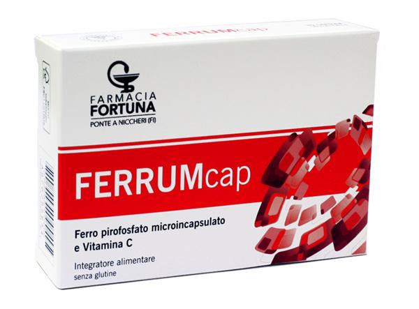TuaFarmaOnline FerrumCap Integratore Alimentare Ferro Vitamina C 30 capsule - latuafarmaciaonline.it