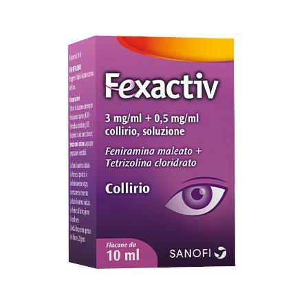 FEXACTIV COLLIRIO 1FL 10ML - Nowfarma.it