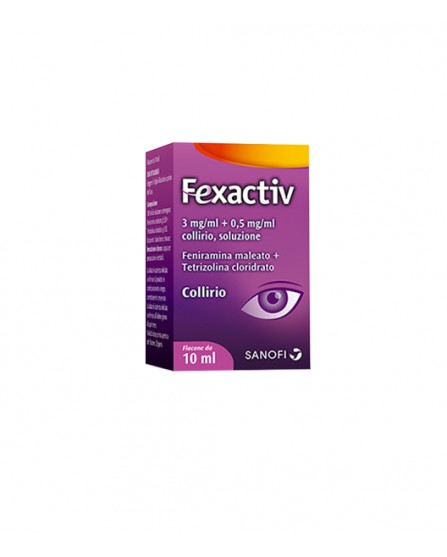 FEXACTIV*COLL 1FL 10ML - farmasorriso.com