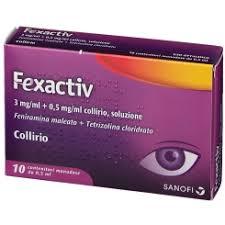Fexactiv collirio 10 flaconcini 0,5ML - latuafarmaciaonline.it