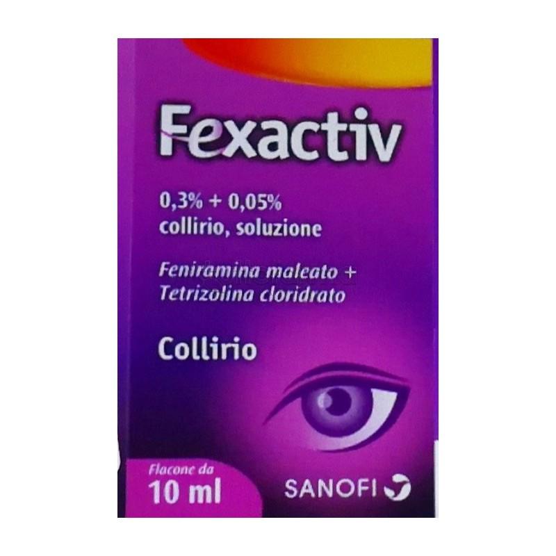 Fexactiv Collirio 1 Flacone da 10 ml - Farmalilla