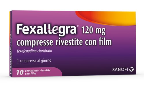 FEXALLEGRA*10CPR RIV 120MG - Farmacia 33