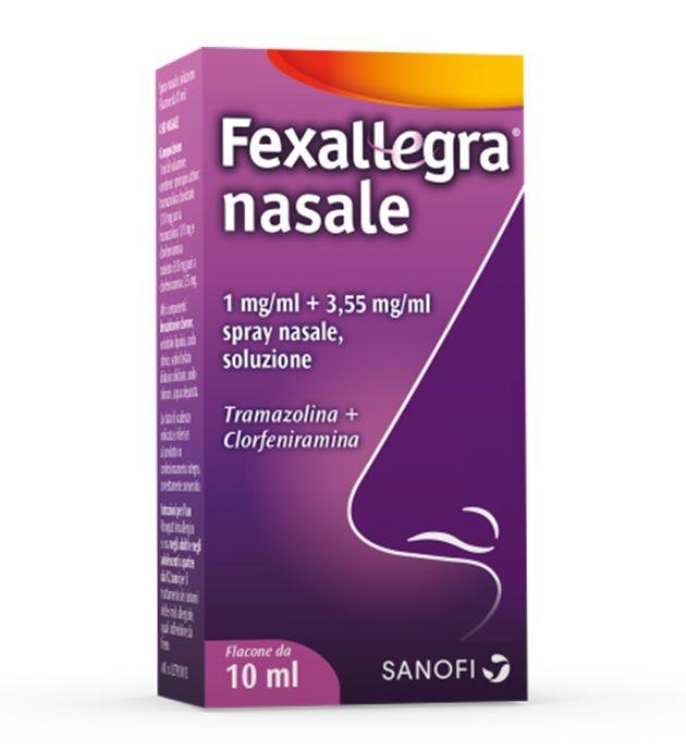 Fexallegra Nasale Spray 1mg/ml Flacone 10 ml - FARMAPRIME
