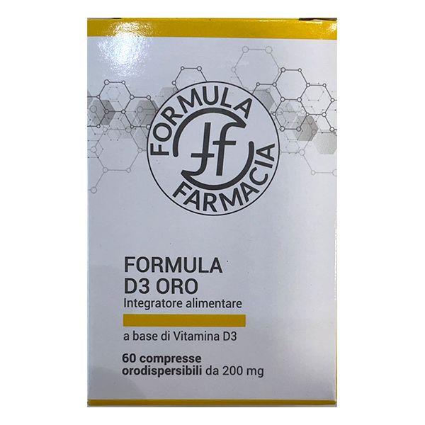 FF FORMULA D3 ORO 60 COMPRESSE - Farmacianuova.eu