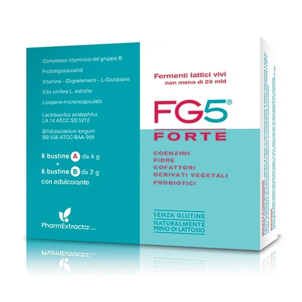 FG5 FORTE FERMENTI LATTICI 6 BUSTINE OMEOPIACENZA  - Farmastar.it