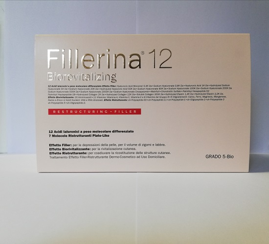 FILLERINA 12 BIOREVIT INTENSIVE FILLER GRADO 5 BIO + PREFILERRINA FLACONE 30+30 ML + 1 TUBO 50 ML - pharmaluna