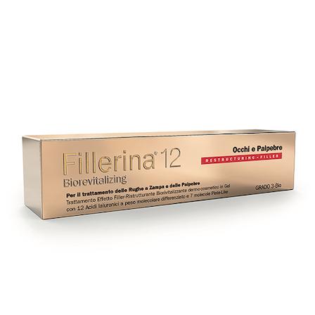 FILLERINA 12HA OCCHI E PALPEBRE GEL BIOREVITALIZING GRADO 3 15 ML - Farmabros.it