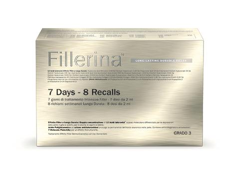 FILLERINA LONG LASTING DURABLE FILLER BIOREVITALIZZANTE INTENSIVE FILLER GRADO 3+ PREFILLERINA FLACONI DA 14+16+30 ML E 1 TUBO 50 ML - Farmabros.it