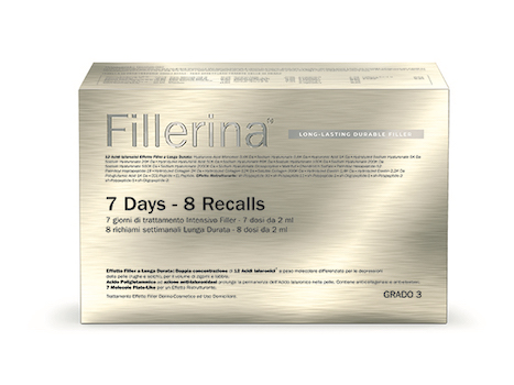 FILLERINA LONG LASTING DURABLE FILLER BIOREVITALIZZANTE INTENSIVE FILLER GRADO 4+ PREFILLERINA FLACONI DA 14+16+30 ML E 1 TUBO 50 ML - Farmabros.it