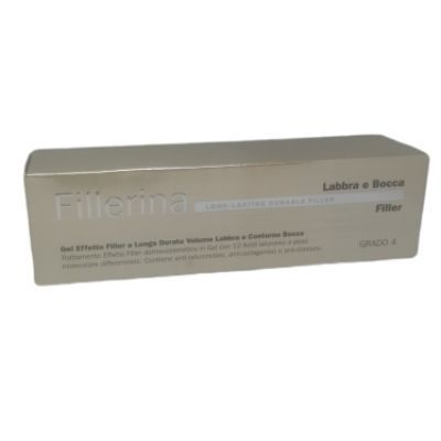 FILLERINA LONG LASTING DURABLE FILLER LABBRA E BOCCA GEL BASE GRADO 4 - Farmaedo.it