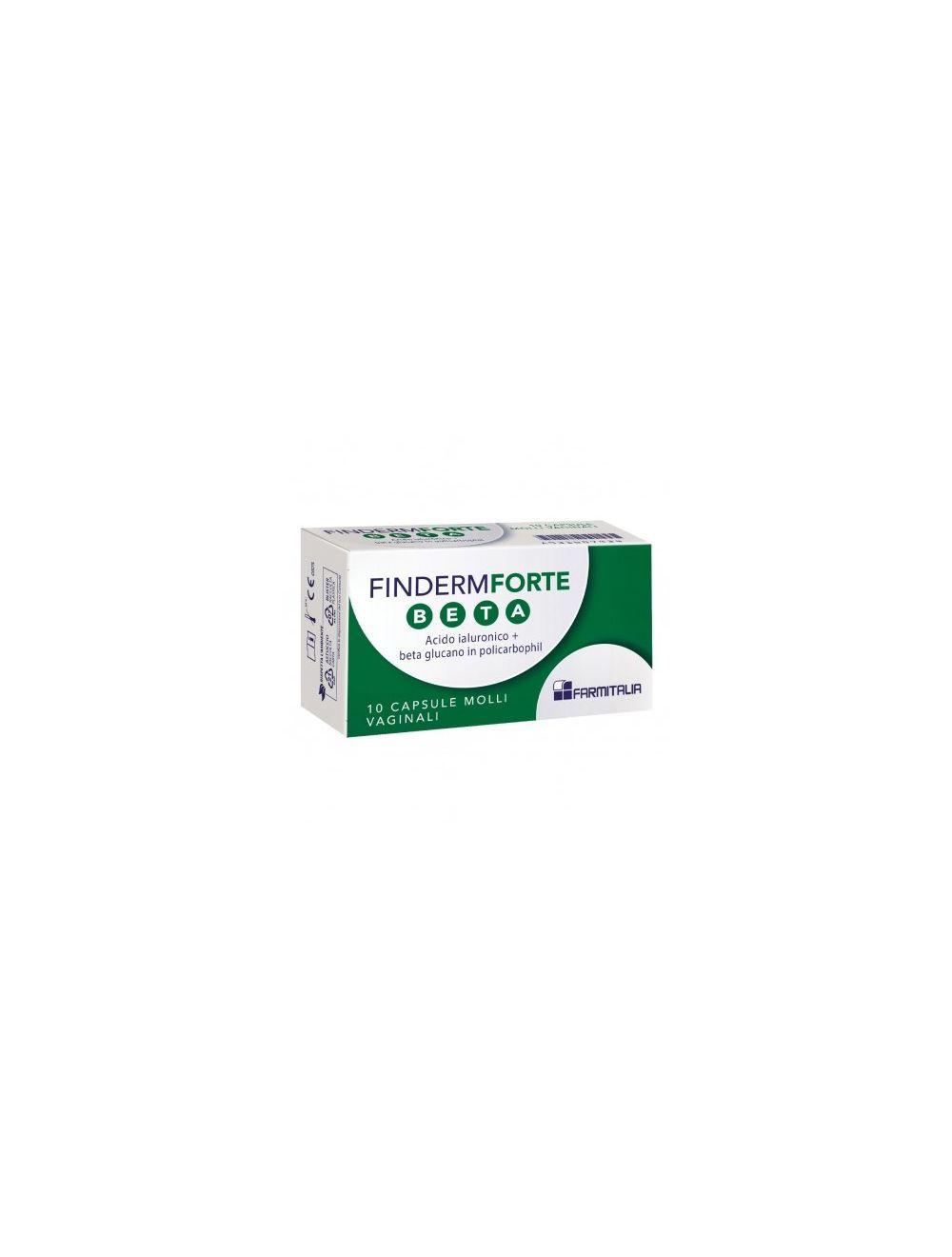 FINDERM FORTE BETA 10 CAPSULE MOLLI - Farmaci.me