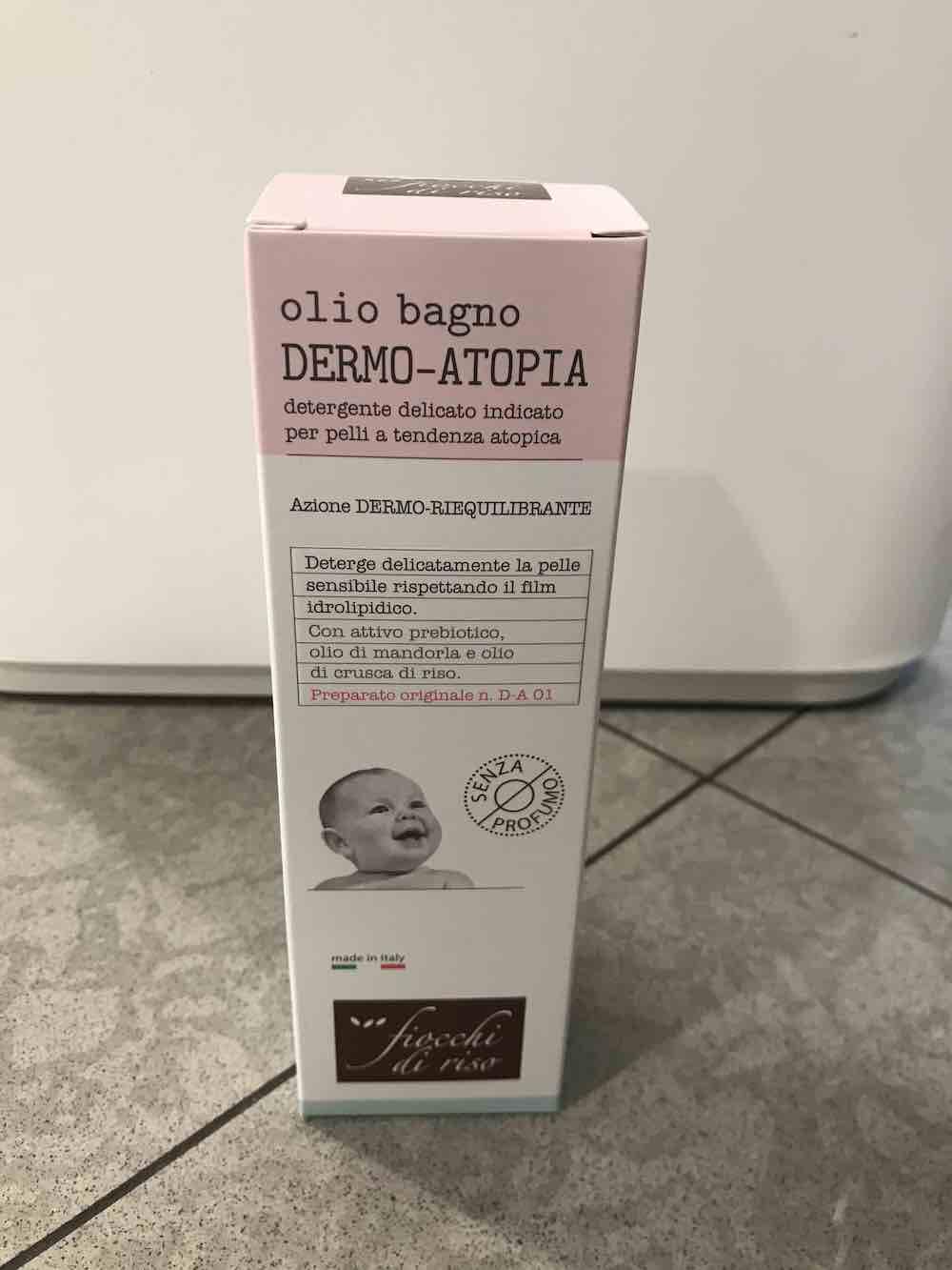 Fiocchi di Riso Dermo Atopia Olio Bagno 200ml - Arcafarma.it
