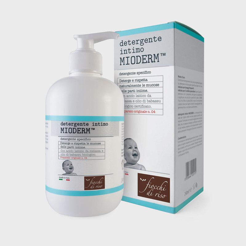 FIOCCHI DI RISO MIODERM DETERGENTE INTIMO 240 ML - Farmacento