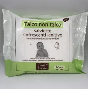 FIOCCHI DI RISO SALVIETTE TALCO NON TALCO - Zfarmacia