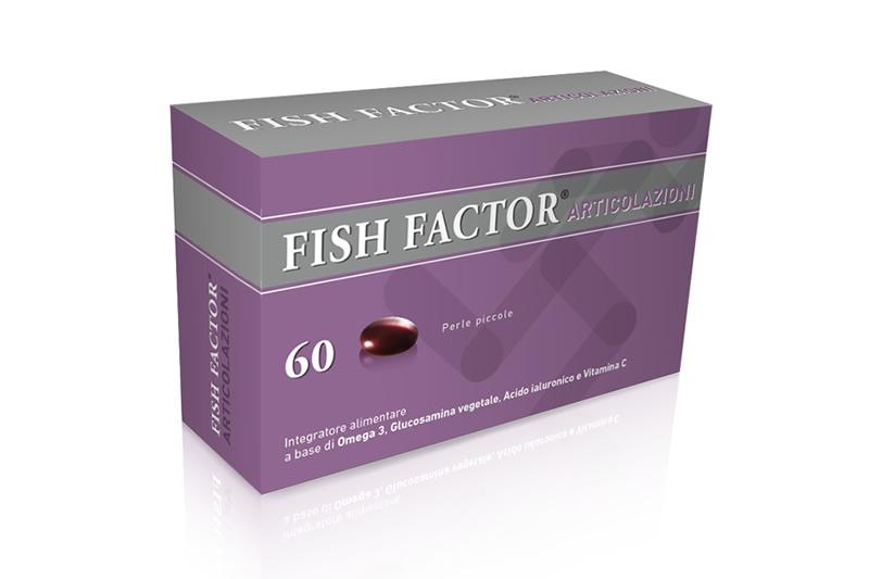 Fish Factor Articolazioni Integratore Alimentare 60 Perle Piccole - Farmacia 33