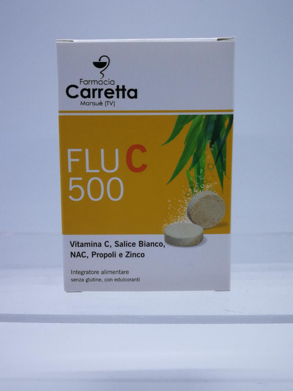 FLU C 500 20 COMPRESSE EFFERVESCENTI - Farmalandia