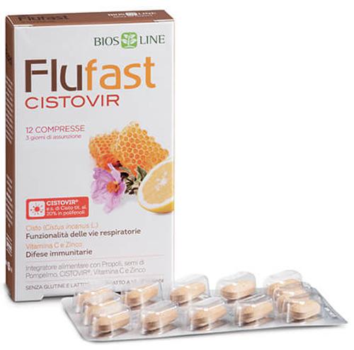 FLU FAST APIX CON CISTOVIR 12 COMPRESSE - Farmacia Centrale Dr. Monteleone Adriano