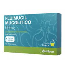 FLUIMUCIL MUCOLITICO*10 COMPRESSE EFFERVESCENTI 600MG - FarmaHub.it