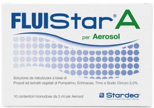 FLUISTAR A 10 MONODOSE DA 3 ML PER AEROSOL - Farmacia Centrale Dr. Monteleone Adriano