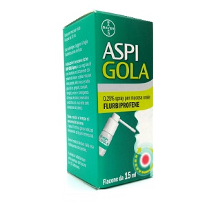 ASPI GOLA*OS SPRAY 15ML 0,25% - Farmacento