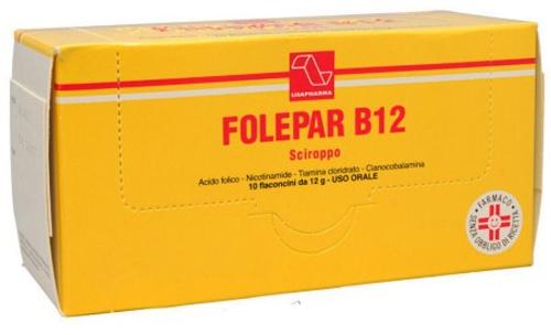 FOLEPAR B12*10FL SCIR 12G - Farmacia Centrale Dr. Monteleone Adriano