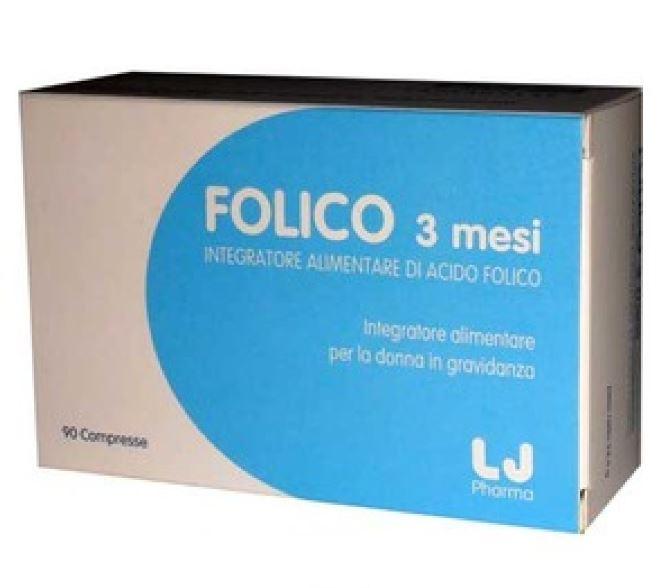 FOLICO 3 MESI 90 COMPRESSE - Farmafirst.it