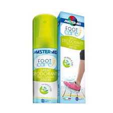 MASTER-AID FOOT CARE SPRAY DEODORANTE 100 ML - DrStebe