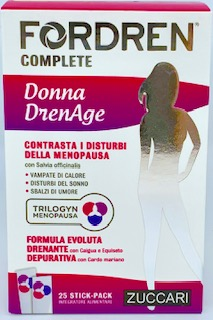 Fordren Complete Donna Drenage 25 stickpack da 10 ml - latuafarmaciaonline.it