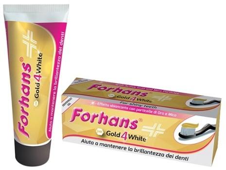 Forhans Gold4White Dentifricio 12ml - Sempredisponibile.it
