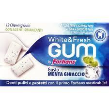 Forhans Gomma da Masticare White&Fresh Gum 12 Confetti - Sempredisponibile.it