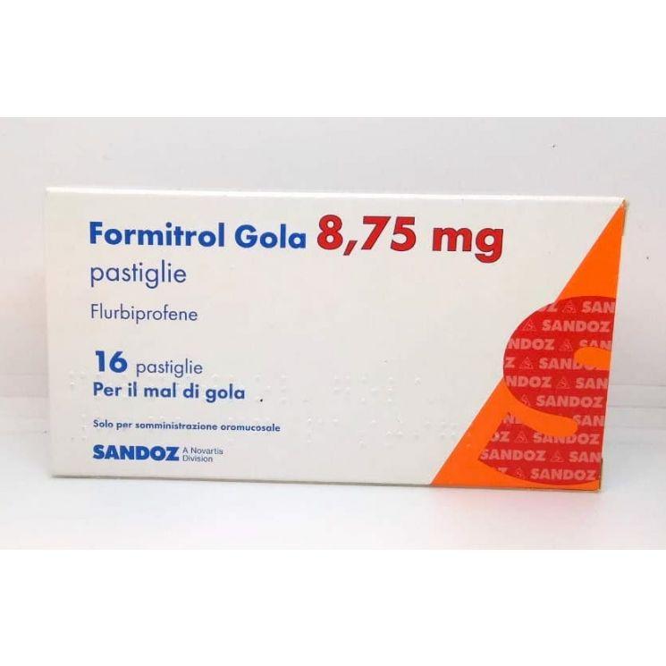 Formitrol Gola 8,75mg 16 Pastiglie - Arcafarma.it