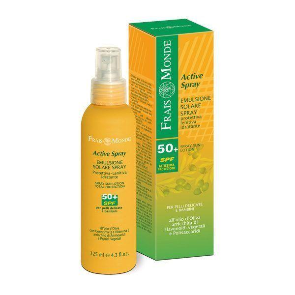 Frais Monde Sun Line Emulsione Solare Spray SPF50+ 125ml - Sempredisponibile.it